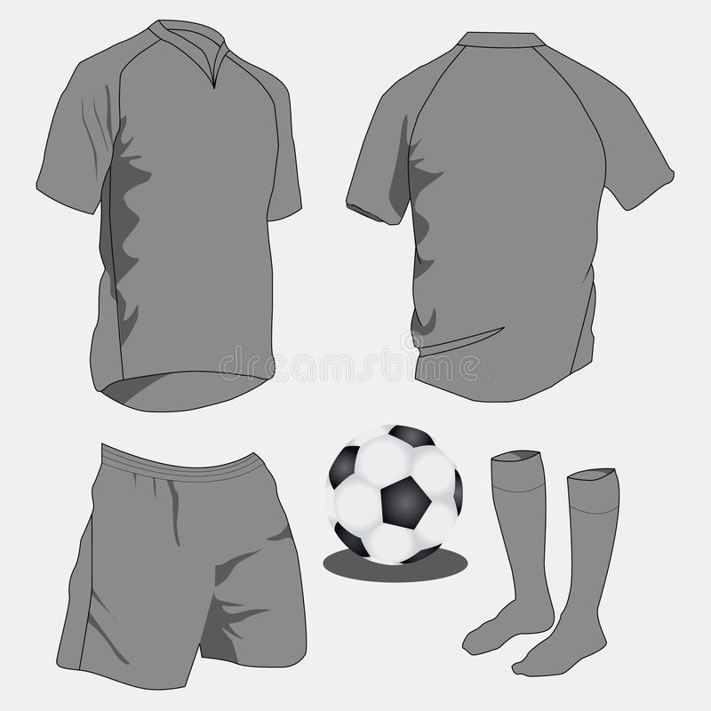 Uniformi di sport illustrazione vettoriale