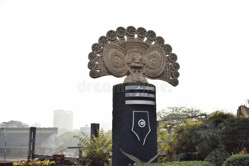 Unik gränsmärke för Kottayam ` s royaltyfria bilder