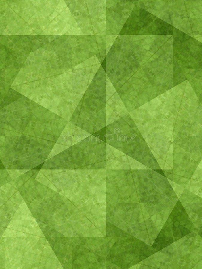 unika gröna former för bakgrund royaltyfri foto