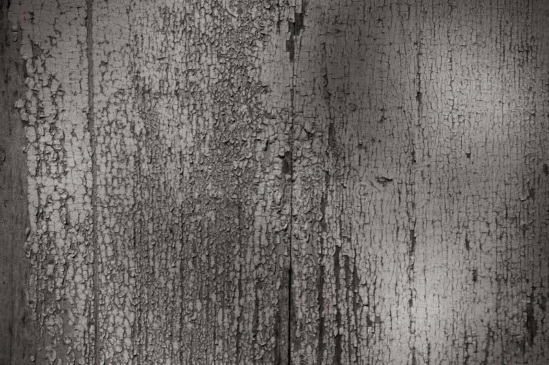 unikalna tło tekstura krakingowa biała farba na malującej ścianie zdjęcia stock