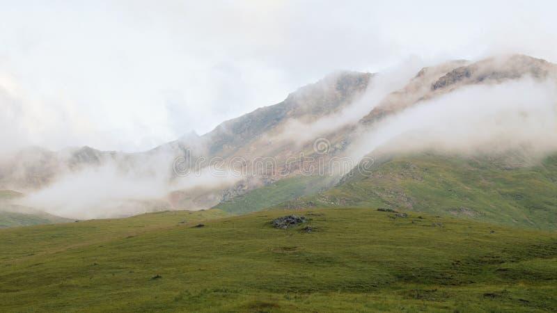 Unikalni krajobrazy Kabardino-Balkarian republika, Rosja obraz stock