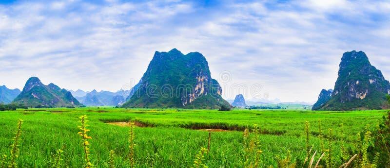 Unikalni kras landforms zdjęcia royalty free