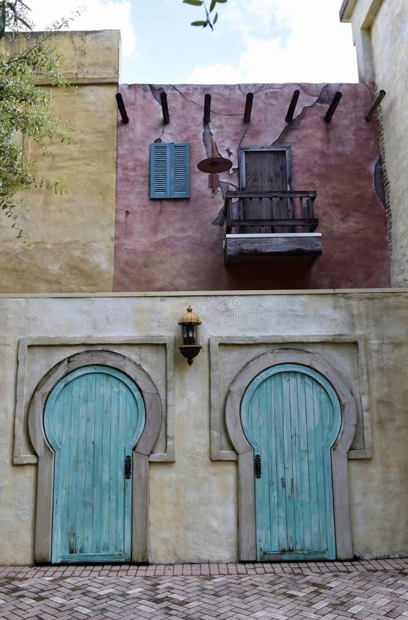 Unikalni Tampa drzwi obrazy royalty free
