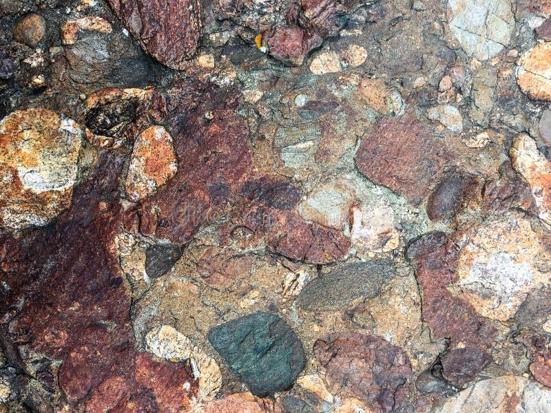 Unikalny ale naturalny rockowy tekstury tło obrazy royalty free