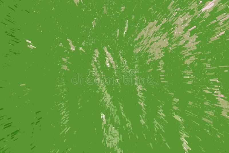 Unikalny jaskrawy kolor zieleni tła tekstury piksla tekstury projekta element obraz stock