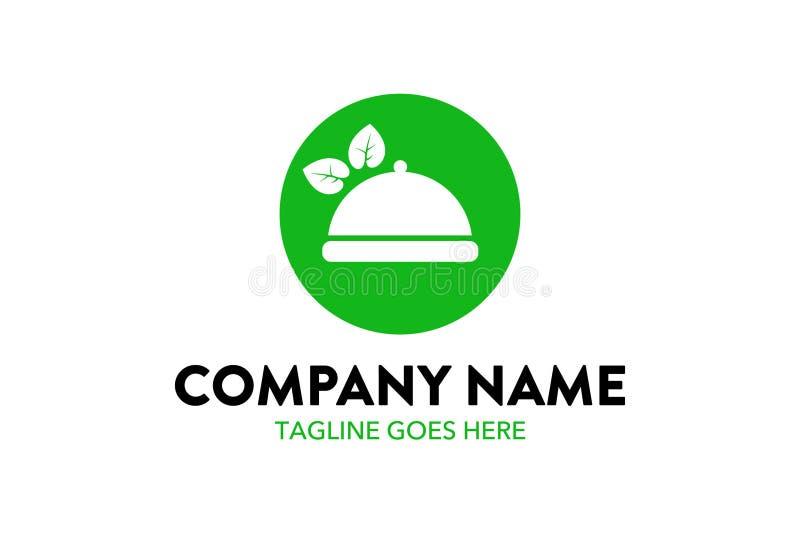 Unikalny jedzenie, napój, szef kuchni, restauracyjny loga szablon ilustracja wektor