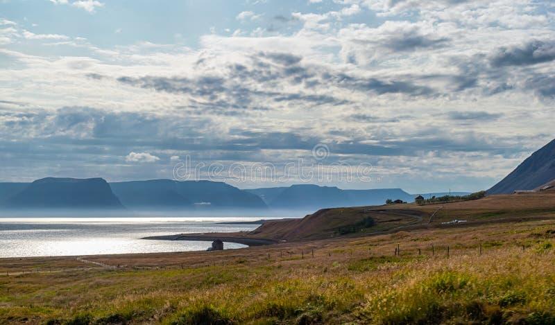 Unikalny krajobraz Iceland zdjęcie stock