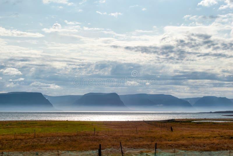 Unikalny krajobraz Iceland obraz royalty free