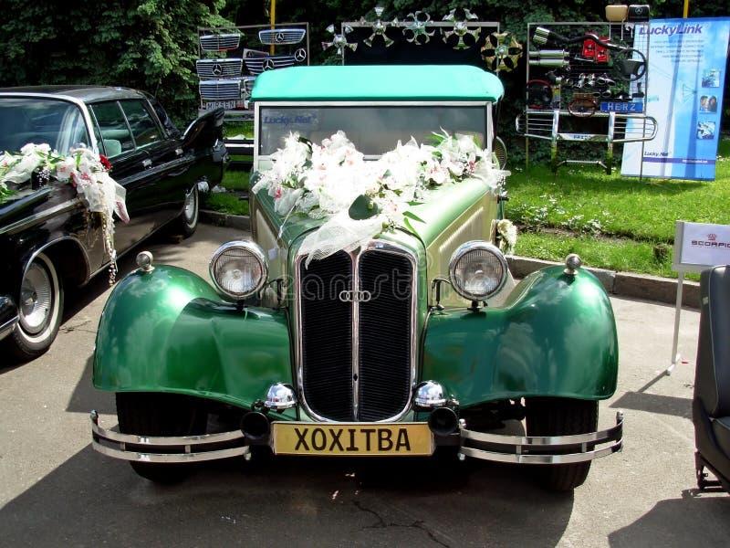 Unikalny retro samochód obraz stock