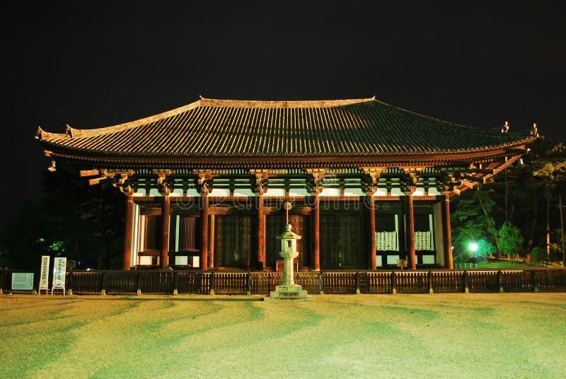 unikt japanskt tempel för arkitektur royaltyfria bilder