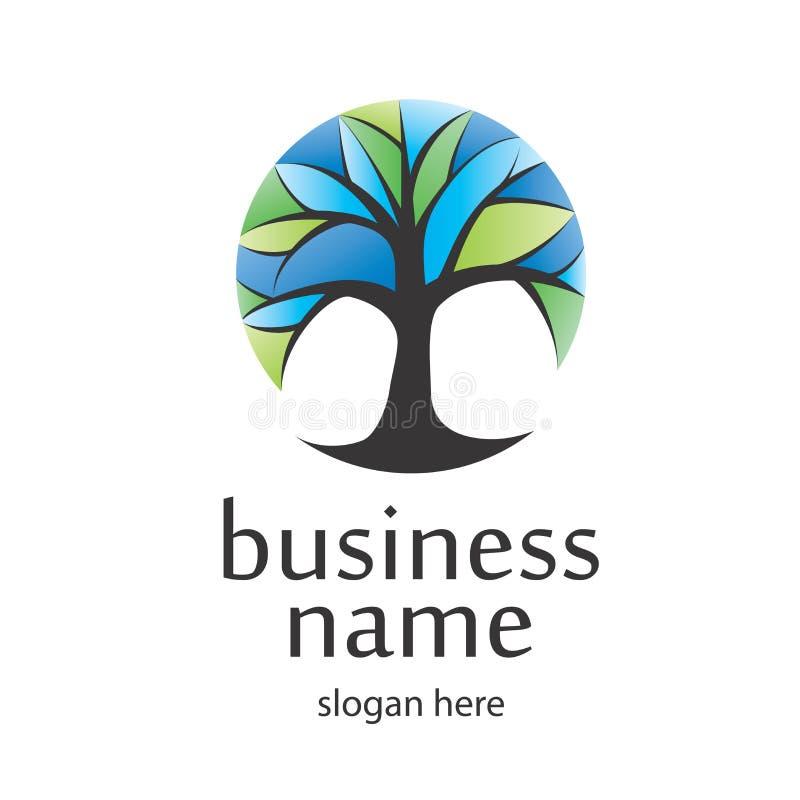Logohöst stock illustrationer