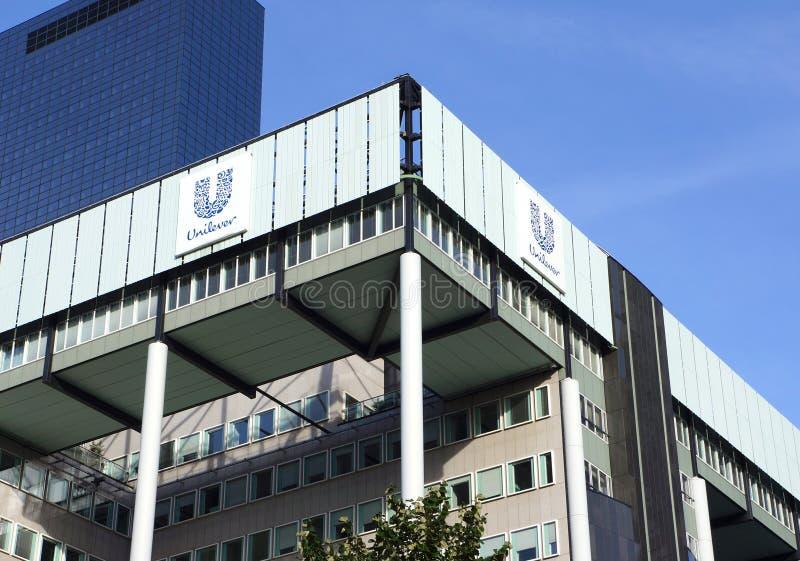 Unilever, Rotterdam obraz royalty free