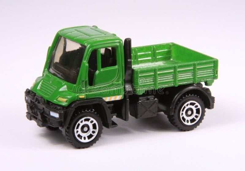 Miniature model truck stock image
