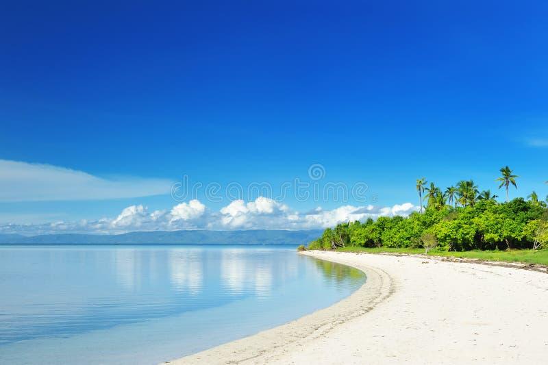 Uninhabited island stock images