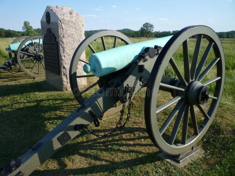 Download Union Canons stock photo. Image of memorial, weapons - 14985350