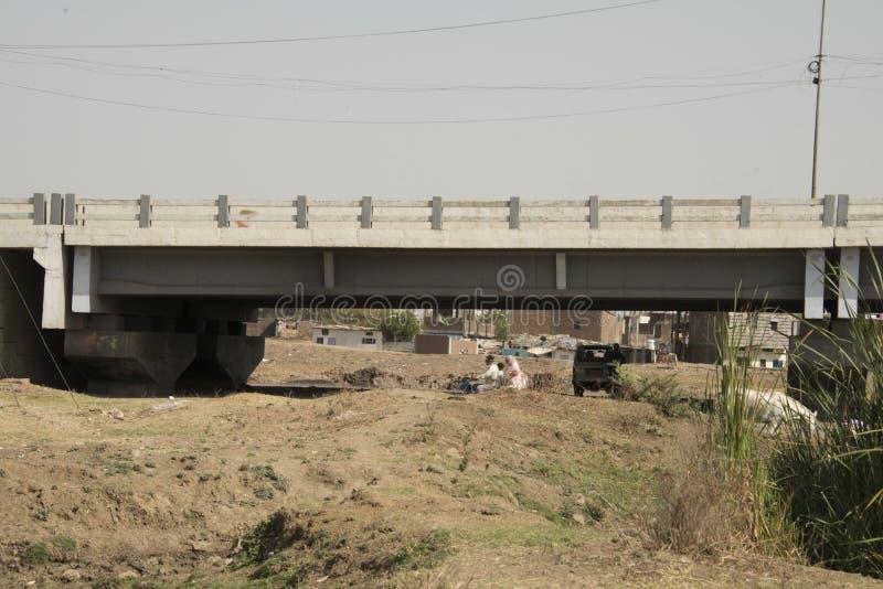 Union Carbide Chemical Plant, Bhopal, Índia fotografia de stock
