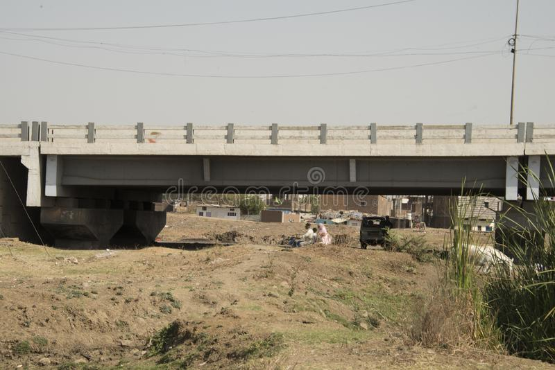 Union Carbide Chemical Plant, Bhopal, Ινδία στοκ φωτογραφία