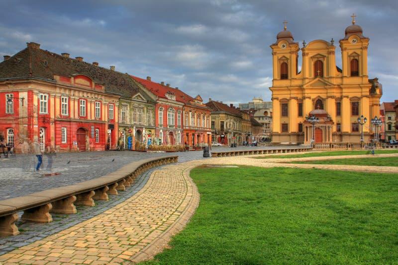 union carrée de timisoara de 02 Roumanie images stock