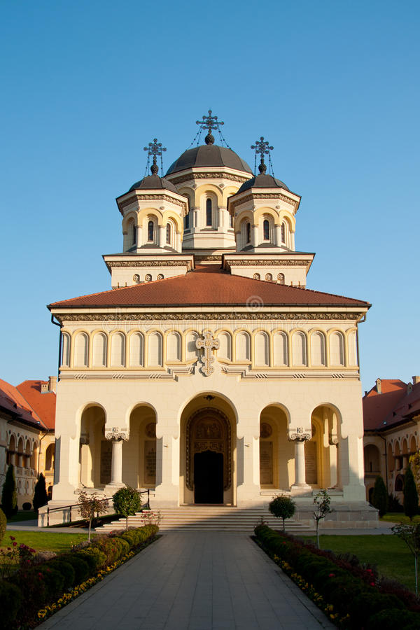 Download Union Cathedral In Alba Iulia, Romania Stock Image - Image of union, moment: 49297085