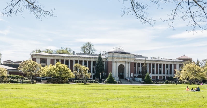 Union commémorative d'université de l'Etat de l'Orégon, le printemps 2016 photographie stock