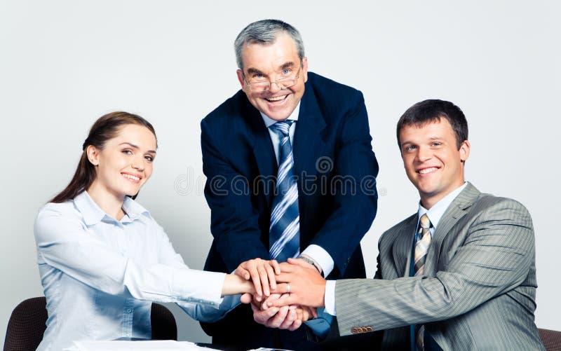 Union des associés images stock