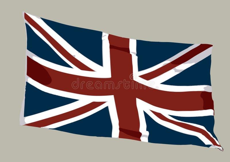 Union Jack 01 stock abbildung