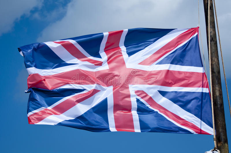Download Union Jack stock photo. Image of blowing, background - 21626146