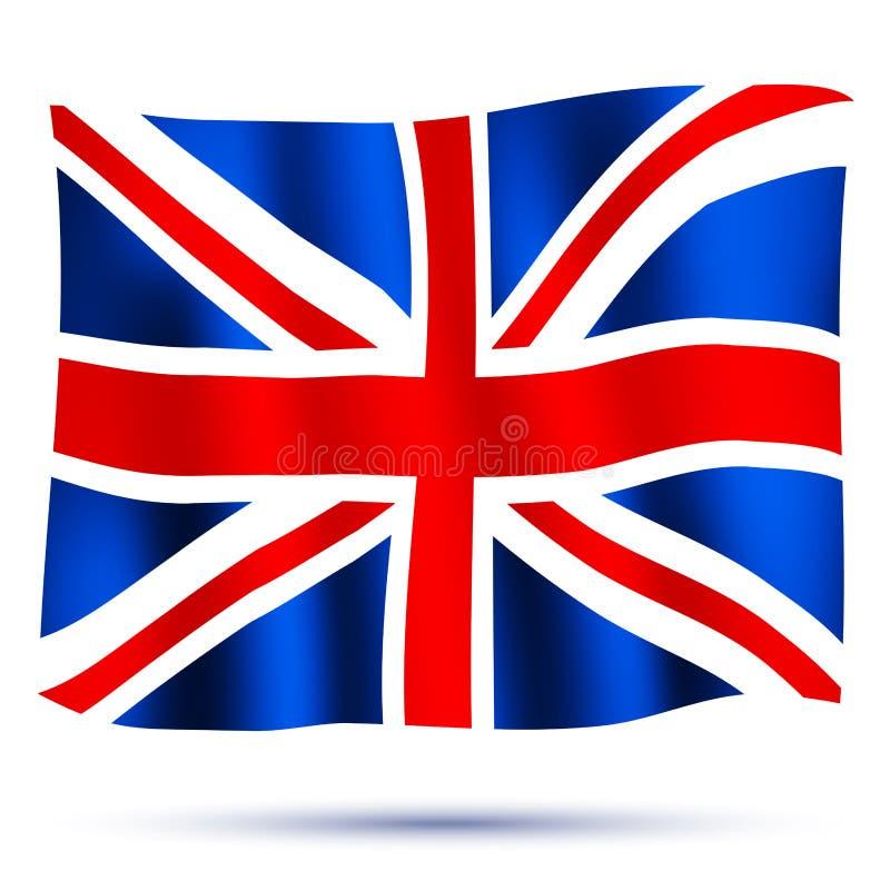 Union Jack illustration de vecteur