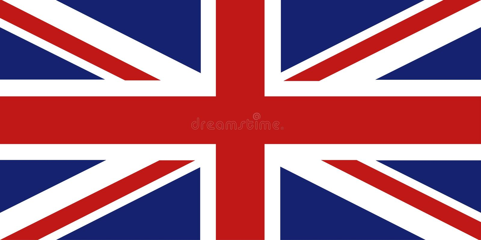 Union Jack vector illustratie