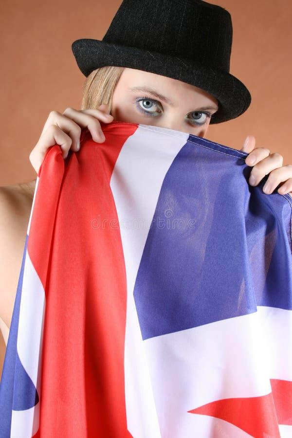 Download Union Jack stock photo. Image of britain, person, make - 5571632