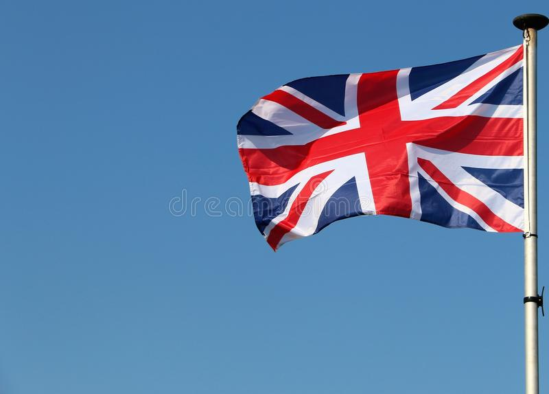 Union Jack/bandeira fotos de stock royalty free