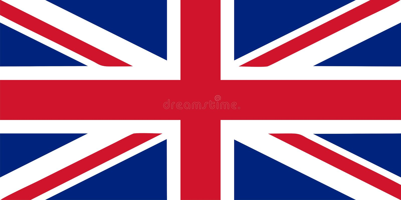 Union Jack - illustration BRITANNIQUE de vecteur d'indicateur illustration libre de droits