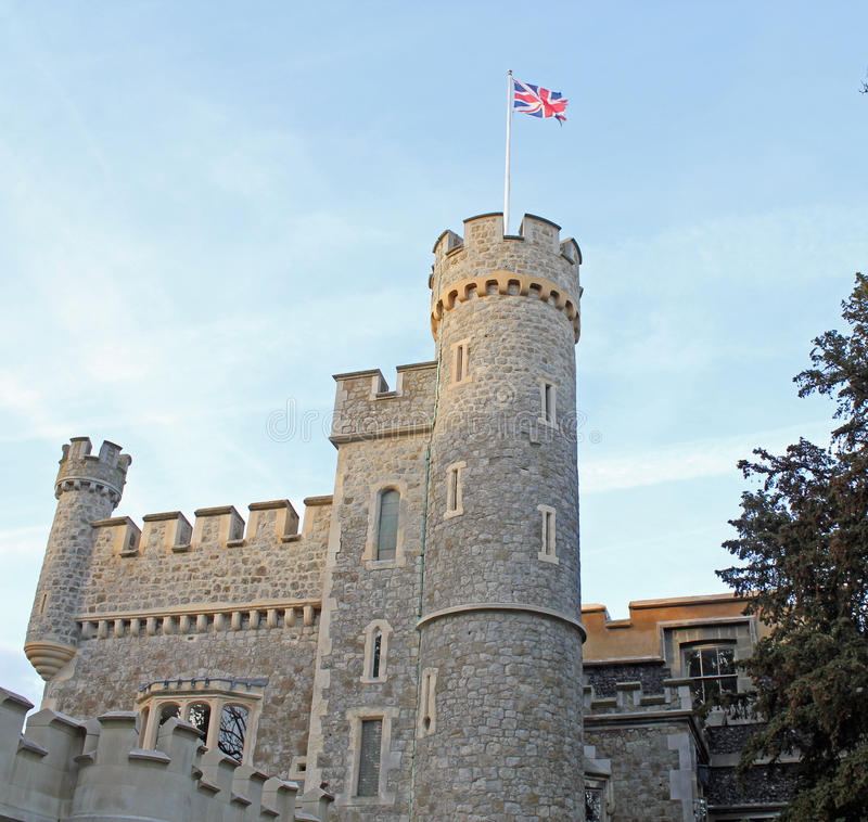 Download Union Jack Tower stock photo. Image of kent, tourists - 27409184