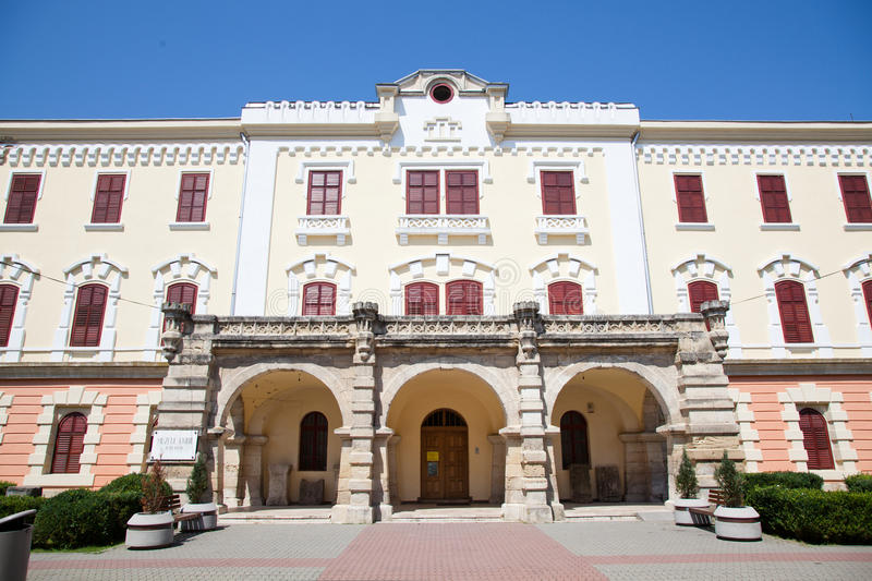 Union Museum in Alba Iulia. The Union Museum in Alba Iulia city, Romania stock photography