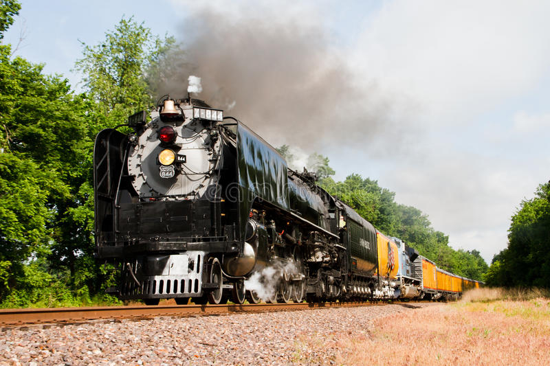 Download Union Pacific #844 editorial photography. Image of track - 20118942
