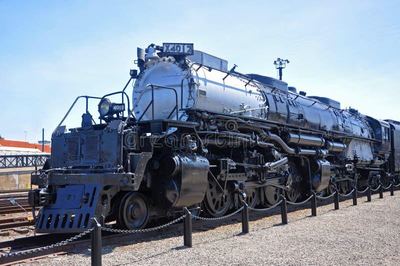 Union Pacifique 4012, Scranton, PA, Etats-Unis de locomotive à vapeur image libre de droits