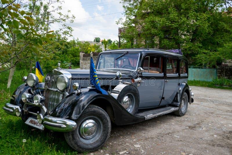 Union/pullman automatiques classiques 951 Limosine 1937 de Horch photographie stock libre de droits