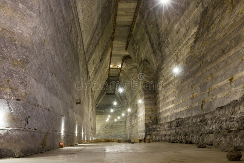 Union Salt Mine royalty free stock photos