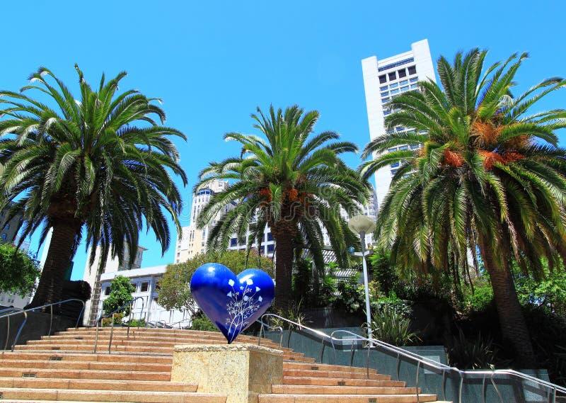 Union San Francisco carrée image libre de droits