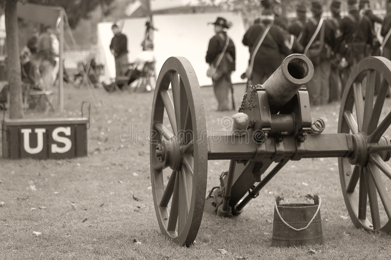 Download Union Soldiers - Sepia Royalty Free Stock Image - Image: 1276686
