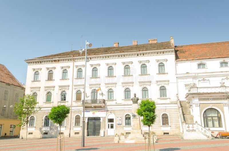 Union Square in the center of Timisoara stock photo