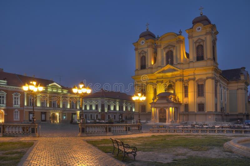 Download Union Square In The Evening,Timisoara,Romania Stock Image - Image: 22119295
