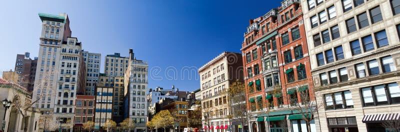 Union Square parkerar i Manhattan, New York City arkivbilder