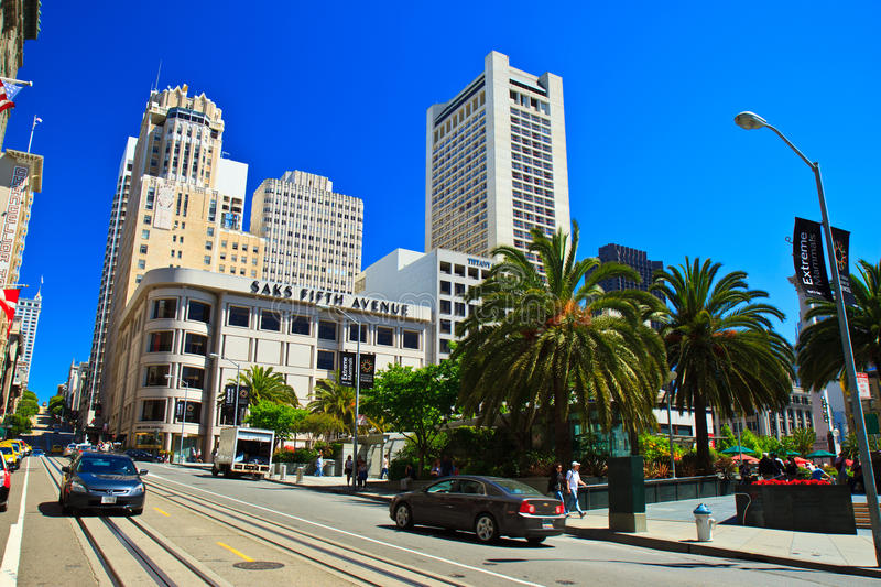 Download Union Square, San Francisco Editorial Stock Image - Image of road, california: 20431069