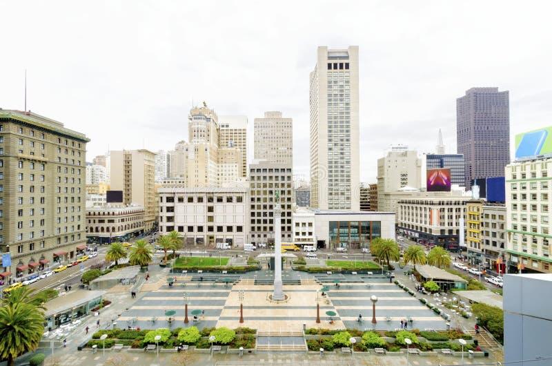 Union Square, San Francisco, California fotografia stock libera da diritti