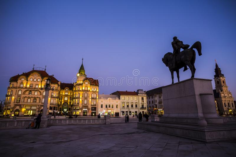 Oradea city, Romania royalty free stock photo