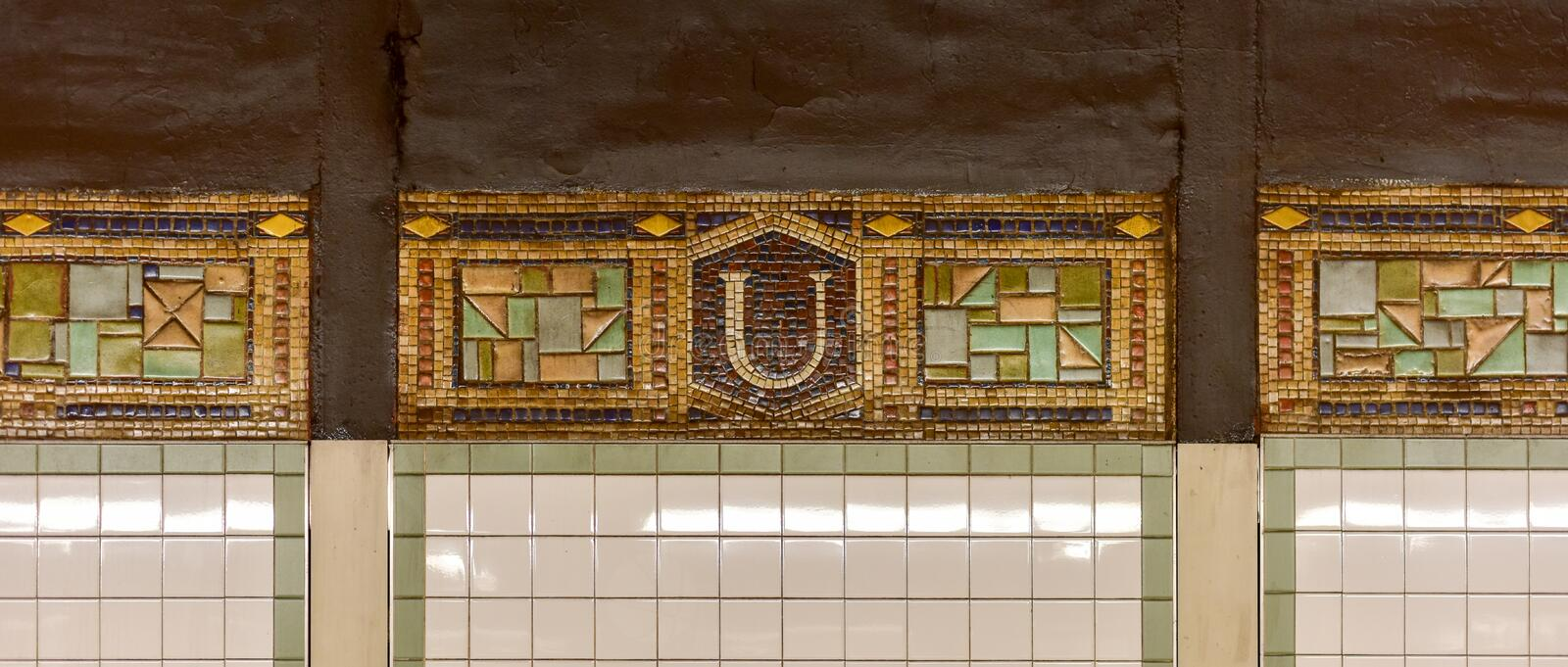 Union Square Subway Station, New York royalty free stock photo