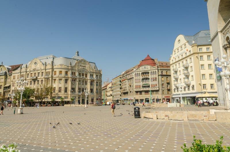 Union Square Timisoara royaltyfria bilder
