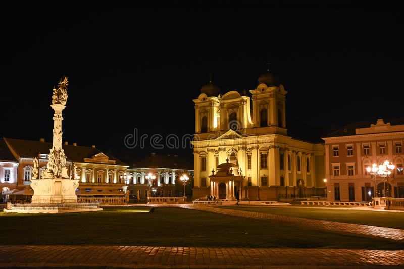 Union Square Timisoara images stock