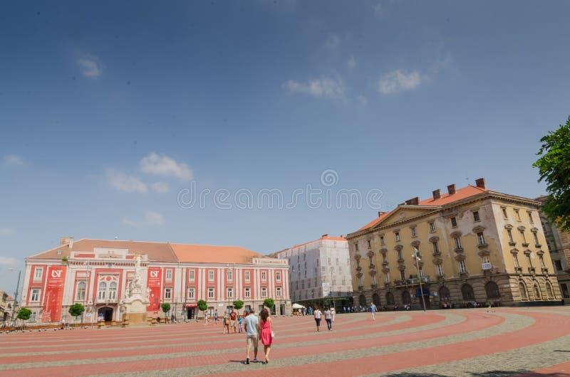 Union Square Timisoara royalty free stock image